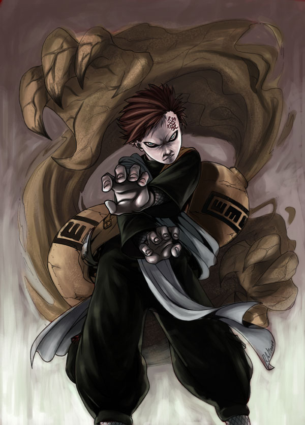 Gaara FirstCollab with Ritam  Gaara Of The Desert Evil