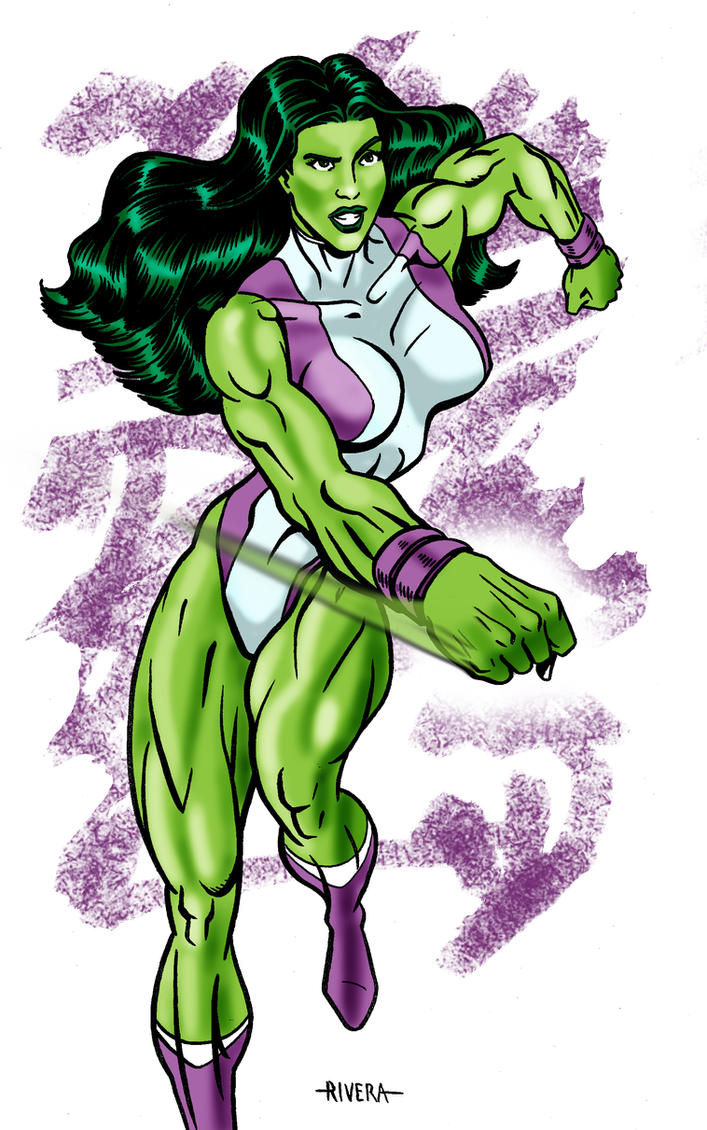 She Hulk rules by lenlenlen1