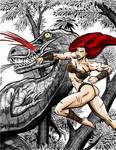 Jemma vs T Rex