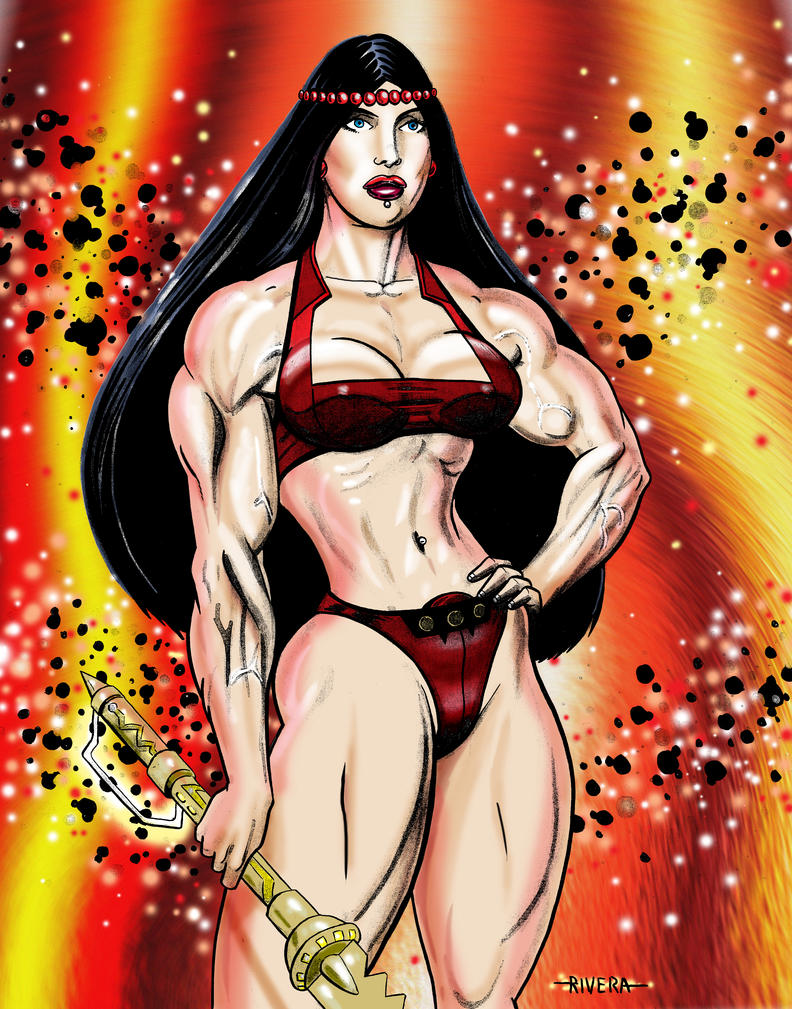 Big Barda by lenlenlen1