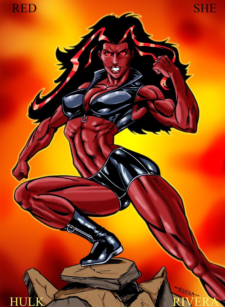 Red She Hulk Porn