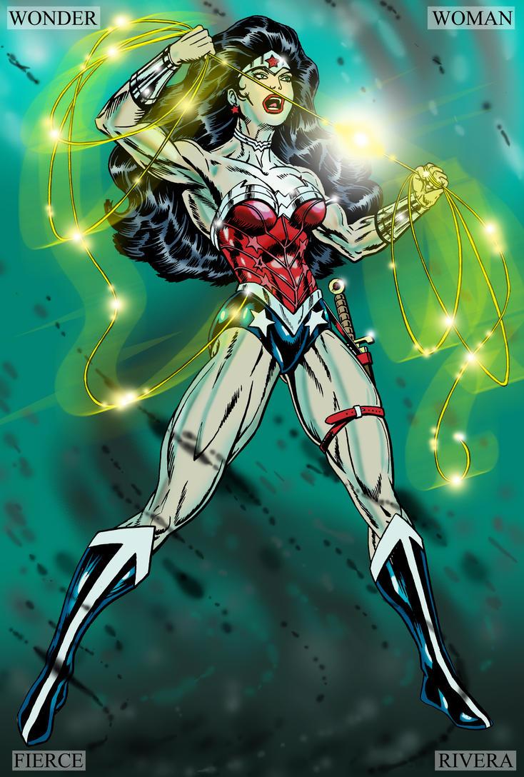 Wonder Woman the New 52 by lenlenlen1