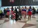Captain America Rockettes