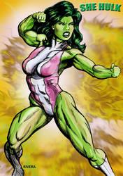 She Hulk goes boom! by lenlenlen1