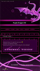 Purple Dragon CSS by EtherealVision