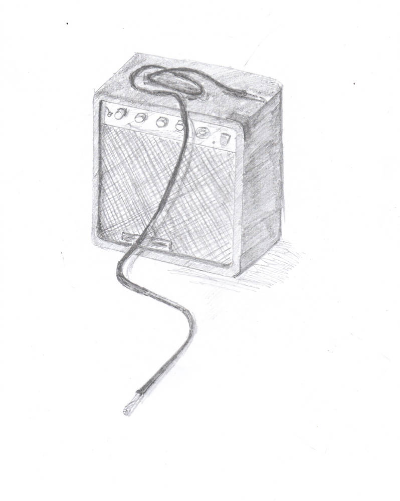 Guitar Amp By Evilgothbunny On Deviantart
