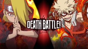 Bakugo vs deidara