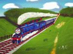 Gordon the High-Speed Engine