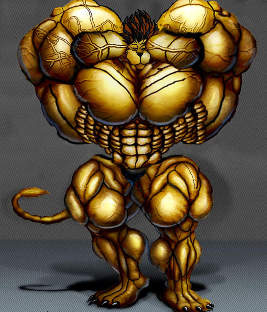 Biggest muscle lion by Lionor on DeviantArt