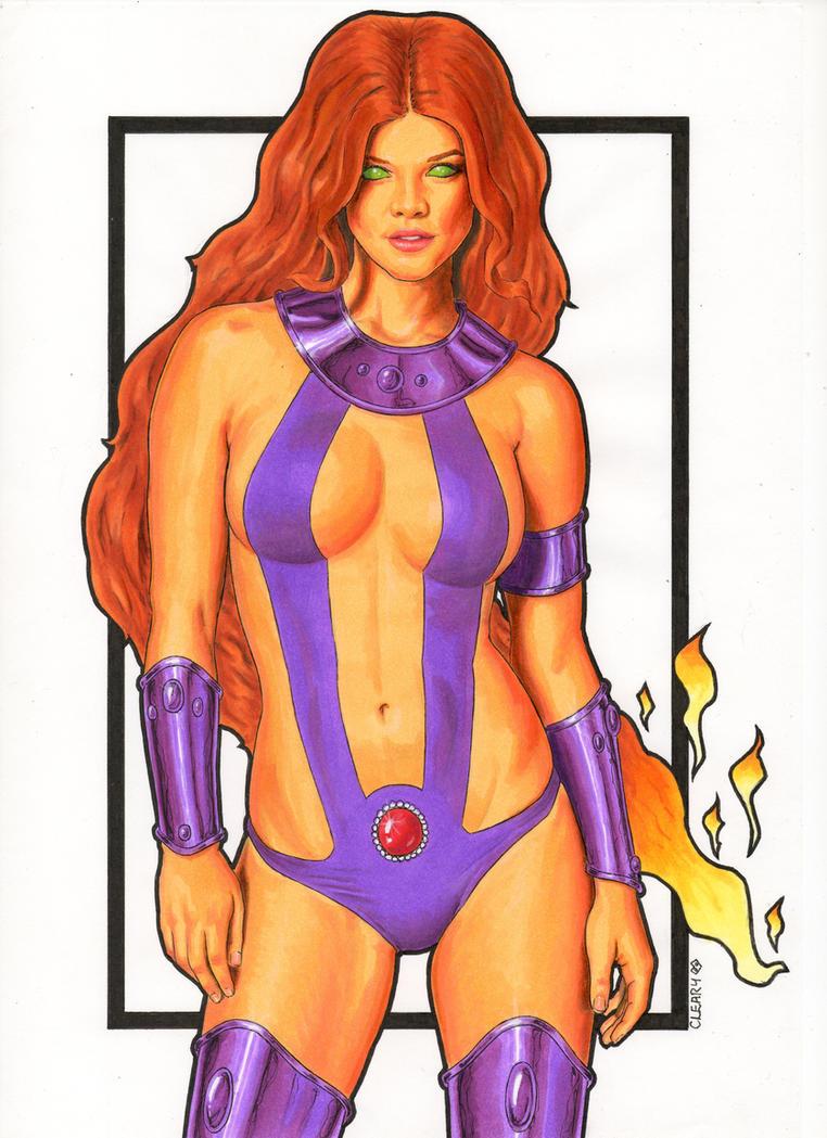 Consider, that Dc comics starfire sexy