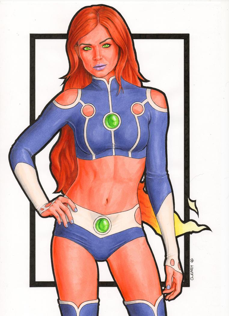 Starfire (New) DC You by Promethean-Arts