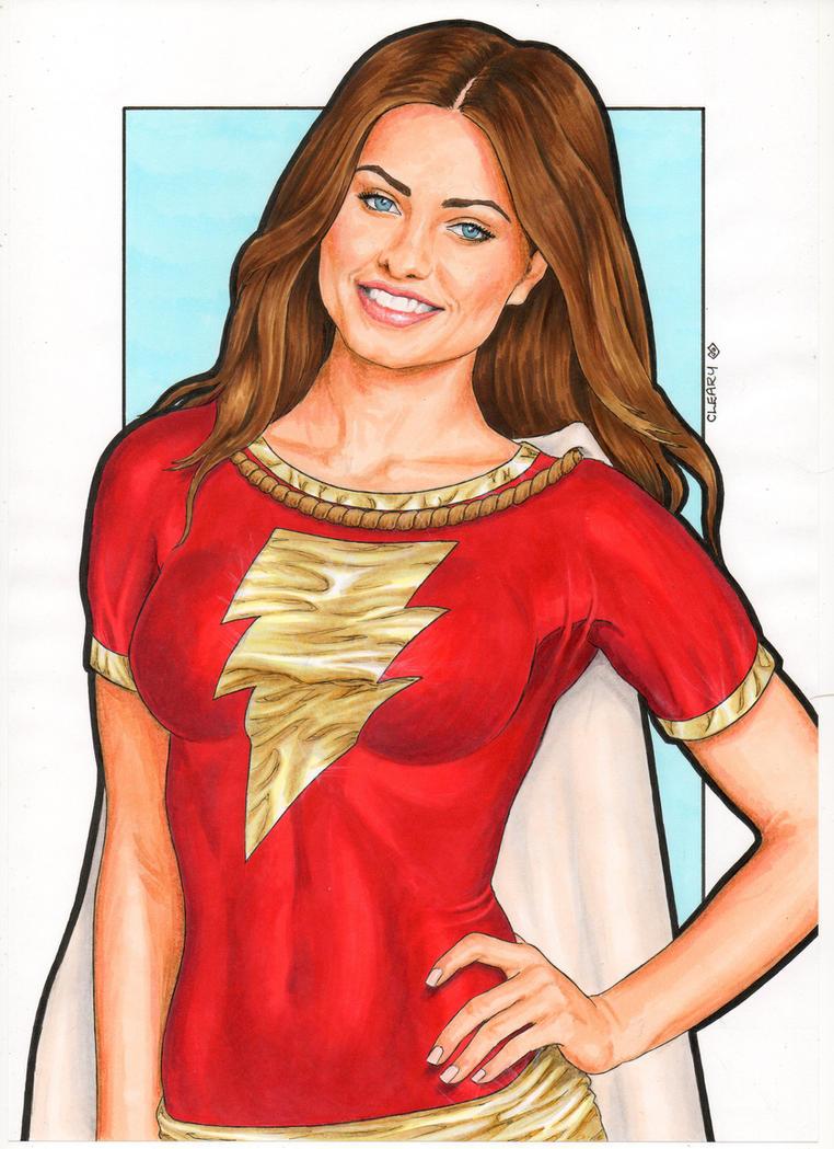 Mary Marvel by Promethean-Arts