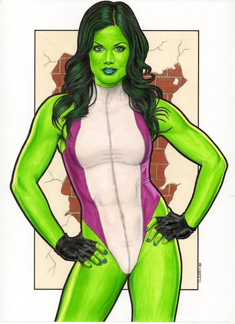 She-Hulk by Promethean-Arts