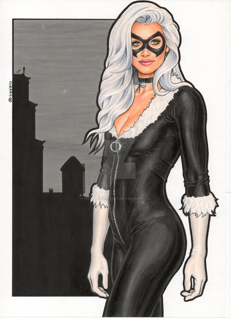 Marvel Comics : Black Cat by Promethean-Arts