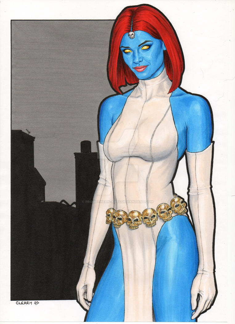Mystique X-men by Promethean-Arts