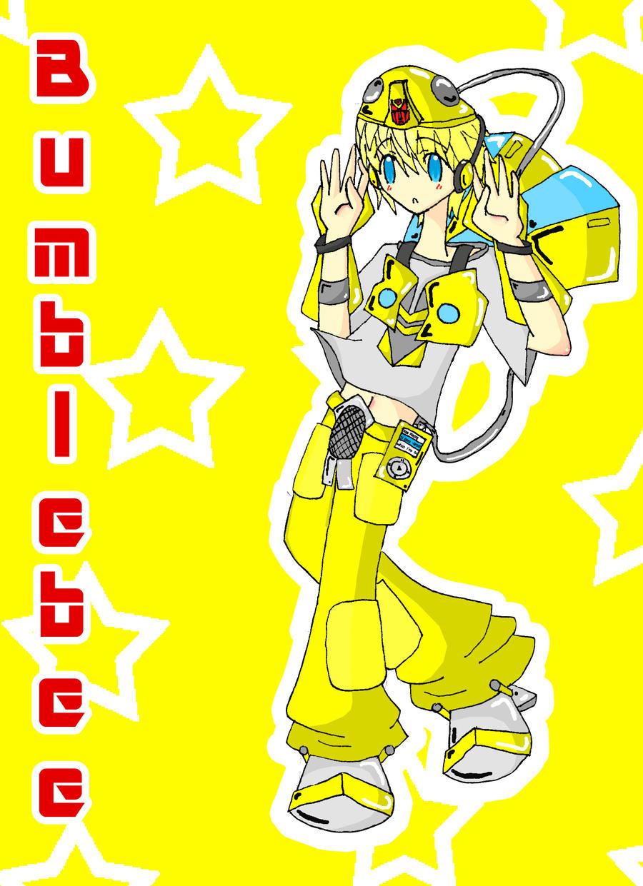 Bumblebee Gijinka by KaiChika