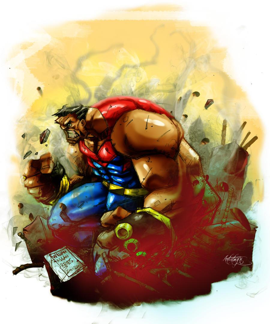 Massive_Pinoy Superhero by artistmyx