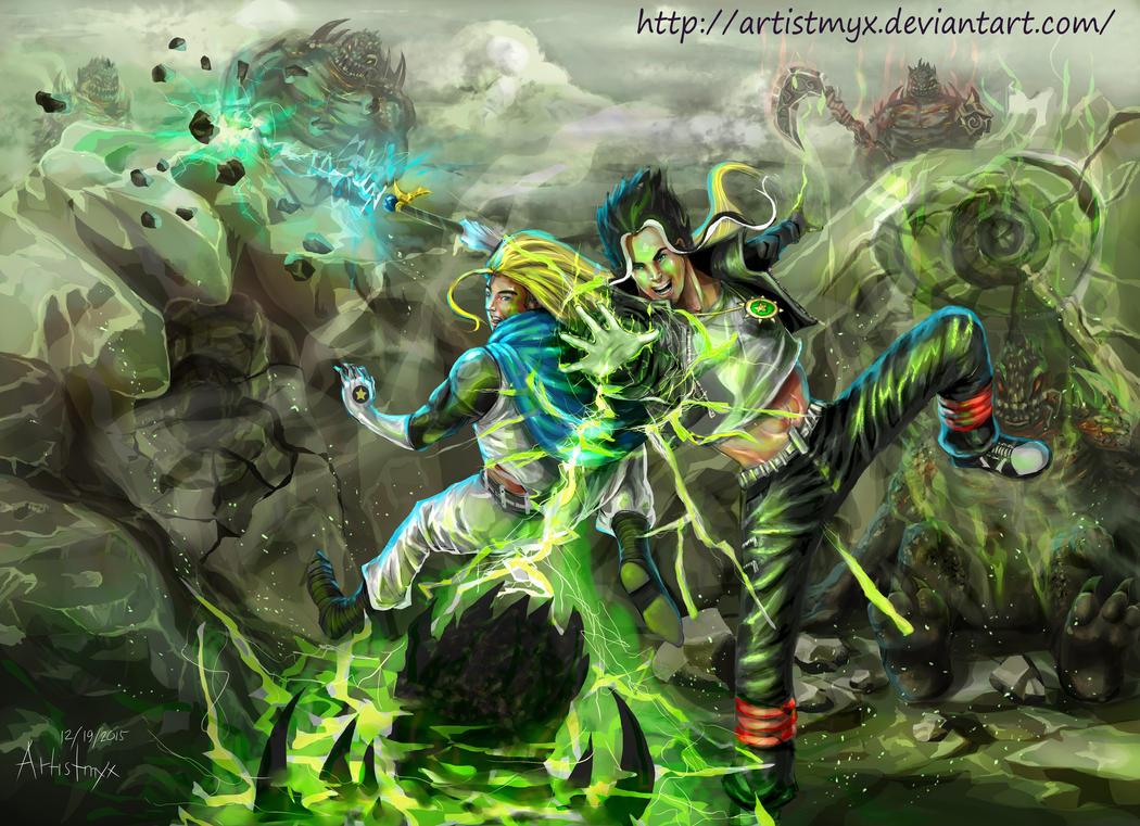 Demitri and Cris - Black Magic(Fan Art) by artistmyx