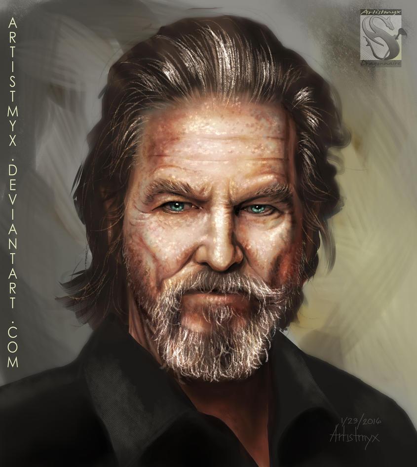 Jeff Bridges - Study #7 by artistmyx