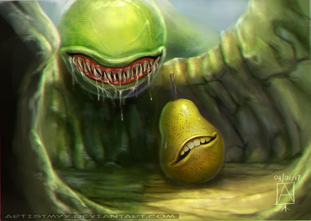 Hide in 'Pear' by artistmyx