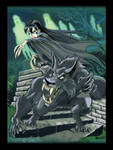 Wulf and Batsy With Ghosts