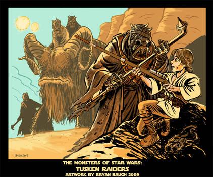 Tusken Raiders by BryanBaugh