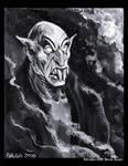 Nosferatu Paint Sketch