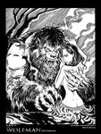 The Wolfman:2010 in B and W