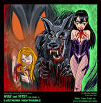 Wulf and Batsy Volume 2 Cover Art