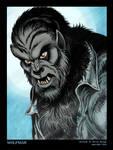 Wolfman Portrait by BryanBaugh