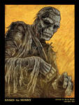 Kharis the Mummy Portrait by BryanBaugh