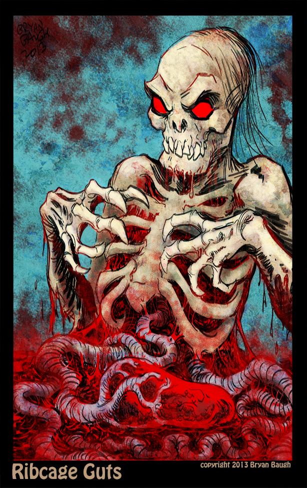 Ribcage Guts by BryanBaugh