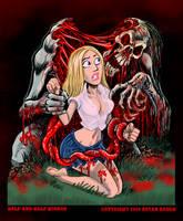 Half and Half Horror by BryanBaugh
