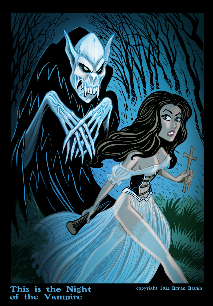 This is the Night of the Vampire by BryanBaugh