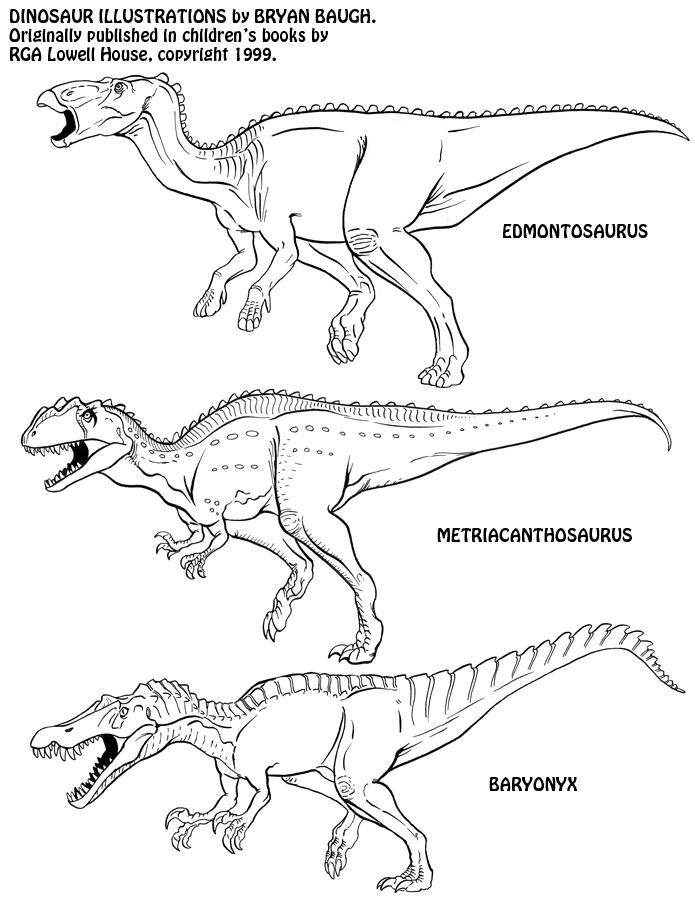 Dinosaurs 14 by BryanBaugh