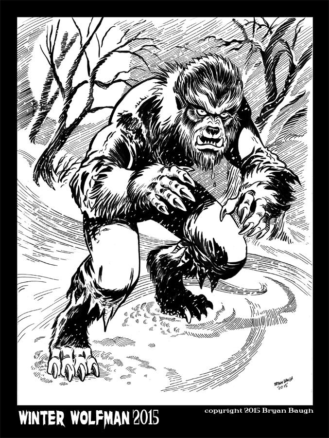 Winter Wolfman 2015 by BryanBaugh