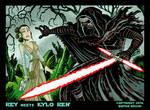 Rey Meets Kylo Ren