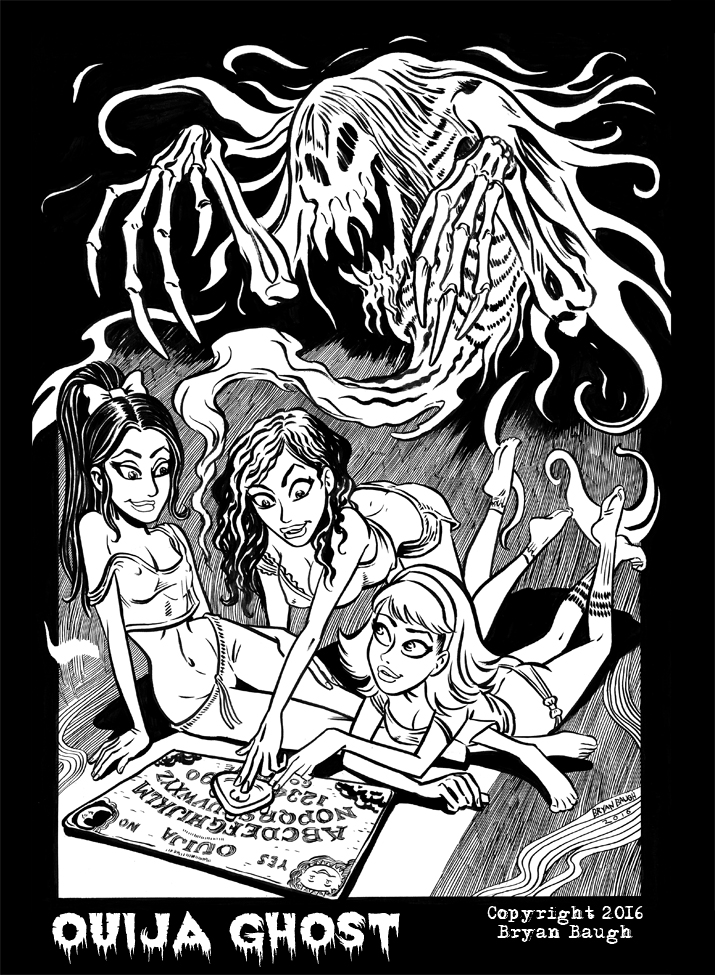Ouija Ghost by BryanBaugh