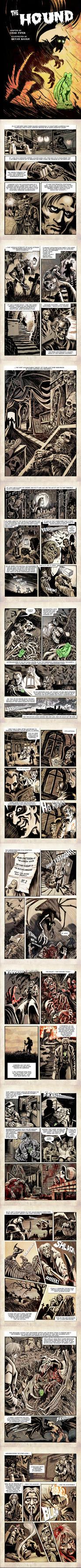 The Hound comic adaptation by BryanBaugh