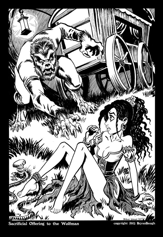 Wolfman and Gypsy Girl Low Rez by BryanBaugh