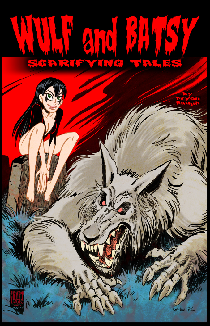 Wulf and Batsy in Scarifying Tales by BryanBaugh