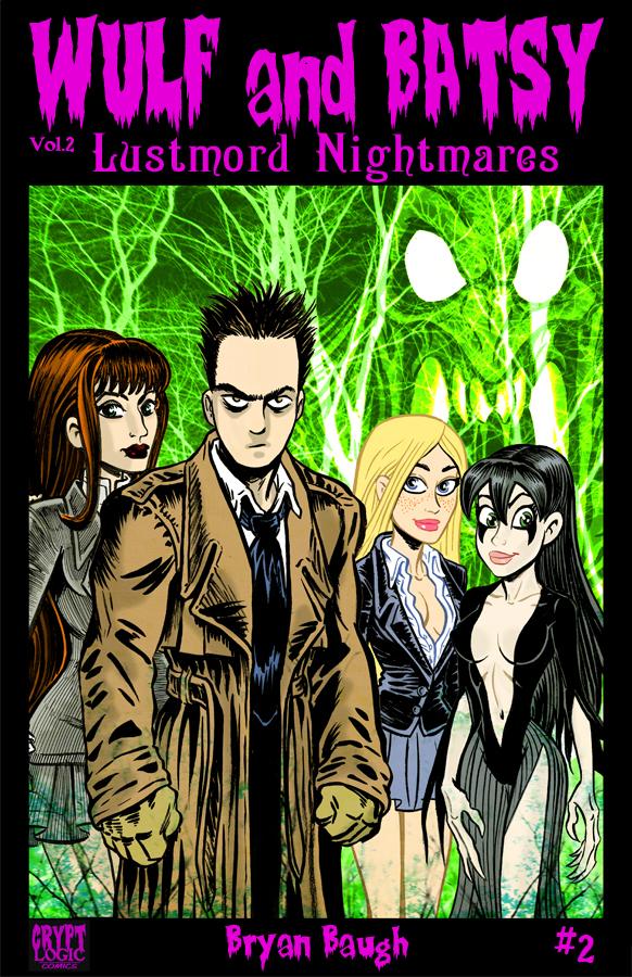 Lustmord Nightmares digital cover 2 by BryanBaugh