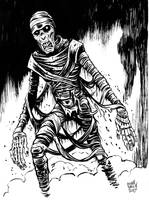 INKTOBER 2017 Day 8: Dusty Bandages by BryanBaugh