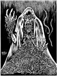 INKTOBER 2017 Day 14: Phantom of the Worms