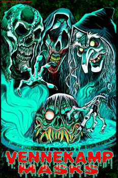 Vennekamp Masks Banner Art
