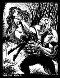 Forest Troll by BryanBaugh