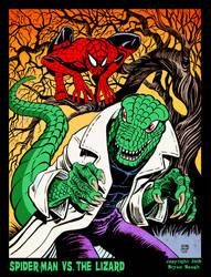 SPIDER-MAN vs. THE LIZARD by BryanBaugh