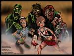 Nara and Hazy vs. Zombies
