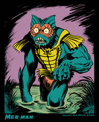 MER MAN from Masters of the Universe by BryanBaugh