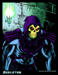 SKELETOR from Masters of the Universe by BryanBaugh